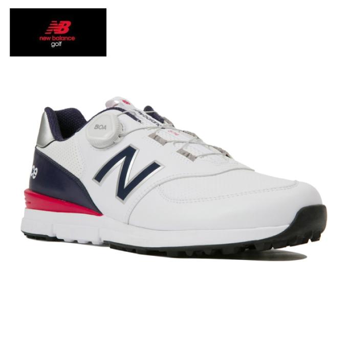 【エントリーで14倍 8/10~8/11まで】 ニューバランス ゴルフシューズ スパイクレス メンズ MGBS574 V2 MGBS574T D new balance