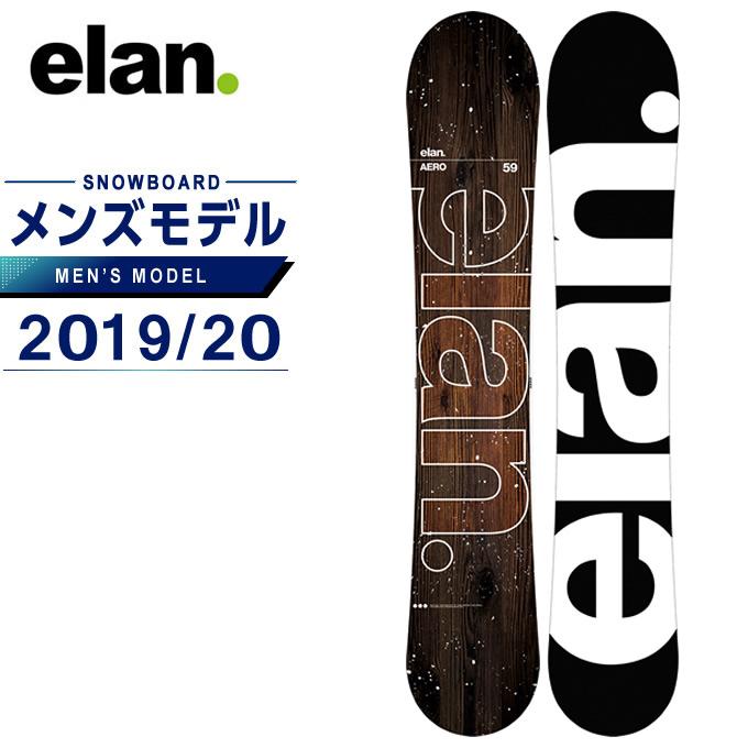 【5/5はクーポンで1000円引&エントリーかつカード利用で5倍】 エラン ELAN スノーボード 板 メンズ エアロ AERO