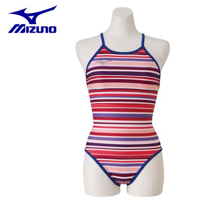 ミズノ トレーニング水着 ジュニア 競泳練習用 Rikako Ikee Collection ミディアムカット N2MA9960-67 MIZUNO