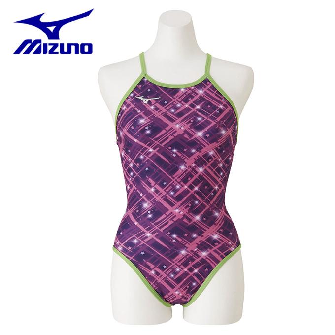 ミズノ トレーニング水着 レディース エクサースーツ ミディアムカット N2MA9764-65 MIZUNO
