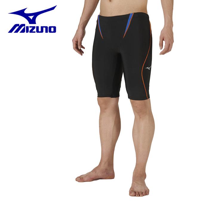 ミズノ フィットネス水着 メンズ アクアフィットネス用ハーフスパッツL 立体カップ対応仕様 N2JB9607-92 MIZUNO