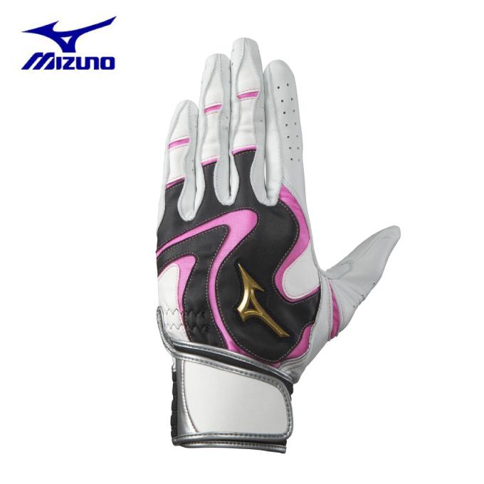 ミズノ 野球 バッティンググローブ 両手用 メンズ レディース モーションアーク W-Leather 1EJEA06201 MIZUNO