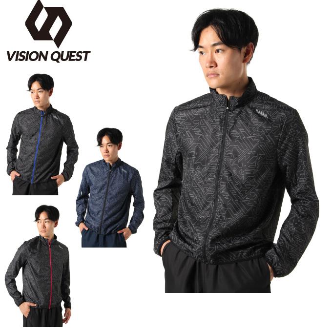 ビジョンクエスト VISION QUEST  ウインドブレーカー ジャケット メンズ RUNウィンドジャケット VQ561001I01