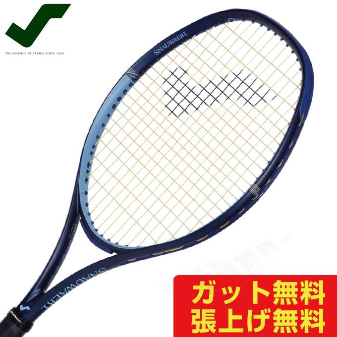 【5/5はクーポンで1000円引&エントリーかつカード利用で5倍】 スノワート SNAUWAERT 硬式テニスラケット メンズ レディース VITAS 105 ビタス105 8T017892
