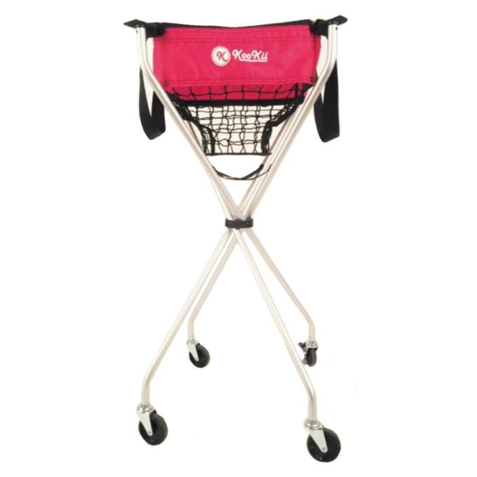 kookii(クッキー) テニス ボールかご テニス用ボールキャリー 折畳式キャスター付き SPJ-001-03