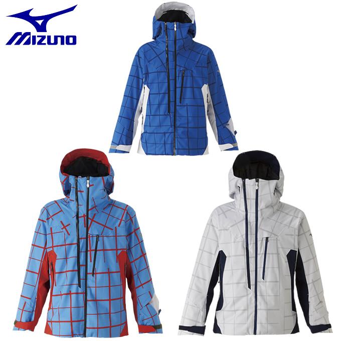 【19-20 2020 モデル】 ミズノ スキーウェア ジャケット メンズ KSK-NEXTパーカ Z2ME9341 MIZUNO