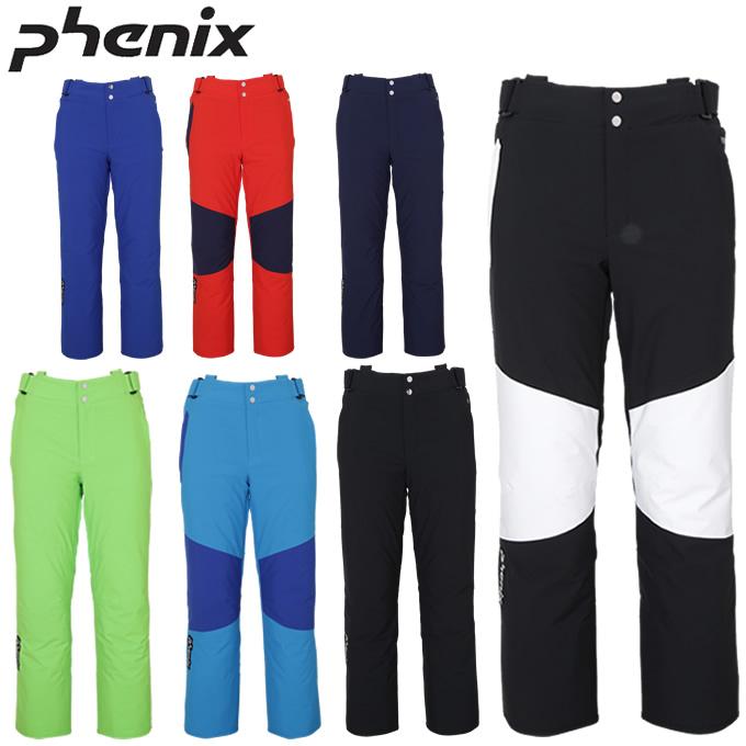 【19-20 2020モデル】 【エントリーでP5倍 10/1(金)アウトドアデー限定】フェニックス Phenix スキーウェア パンツ メンズ レディース Demo Team 3-D Pants PF972OB12