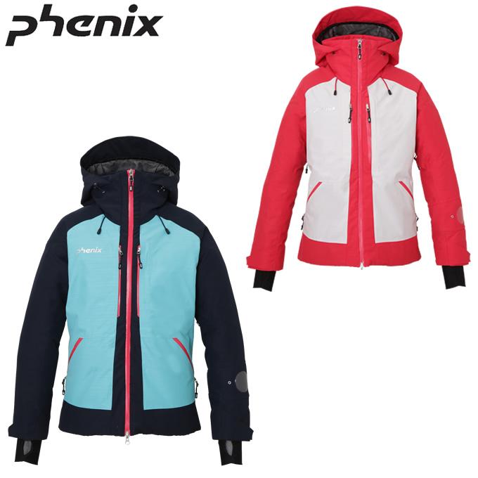 【ウインターウェアクーポンで10%OFF 12/19 20:00~12/26 1:59】 フェニックス Phenix スキーウェア ジャケット レディース Spray 2L Insulation W's Jacket PA982OT22W
