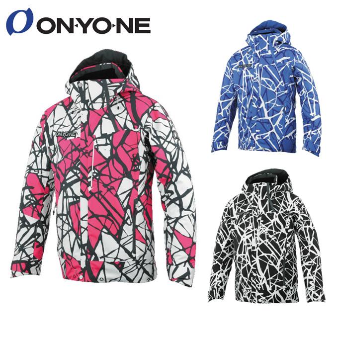 【5/5はクーポンで1000円引&エントリーかつカード利用で5倍】 オンヨネ ONYONE スキーウェア ジャケット メンズ レディース PRINT OUTER JACKET ONJ92P43