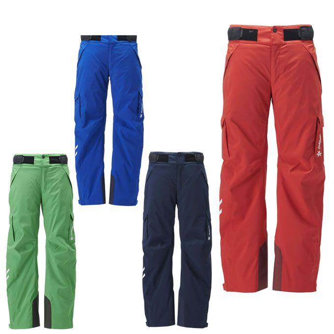 【ポイント3倍 10/11 8:59まで】 ゴールドウィン GOLDWIN スキーウェア パンツ メンズ Atlas Pants アトラス パンツ G31923P