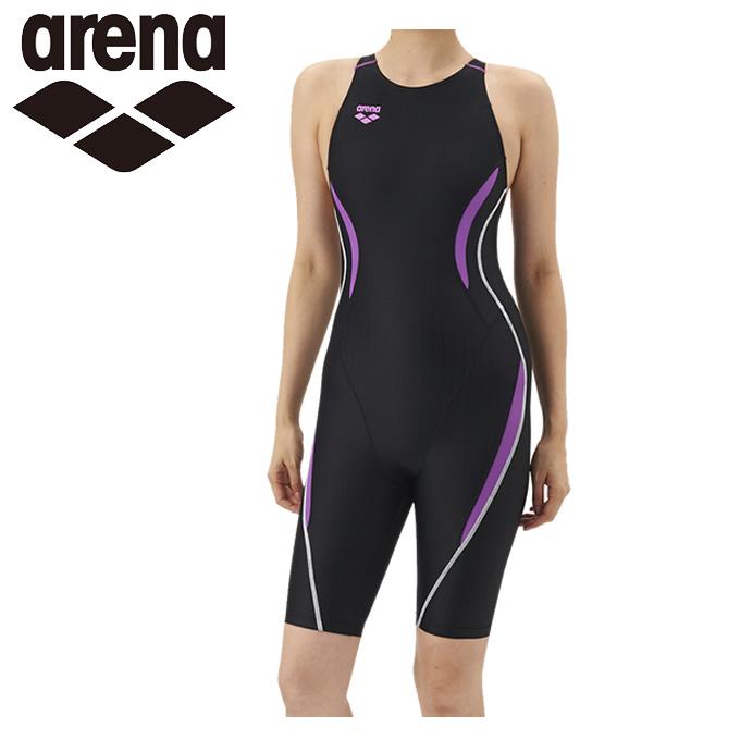アリーナ arena FINA承認 競泳水着 ハーフスパッツ ジュニア G ウロコスキンHスパッツ ARN-7050WJ-BKPL