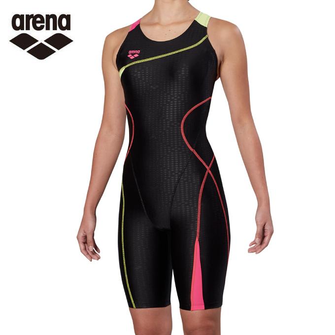 超人気の アリーナ arena arena フィットネス水着 オールインワン レディース FLA-9900W-BKPK サークルバックスパッツ アリーナ ぴったりパッド 着やストラップ FLA-9900W-BKPK, アクセサリーe-select:50e10750 --- enduro.pl