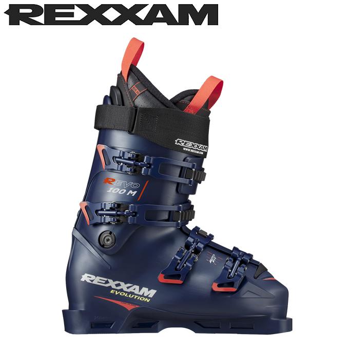 【ポイント3倍 10/11 8:59まで】 レグザム REXXAM スキーブーツ メンズ レディース R-エボ 100M R-EVO 100M BX-H