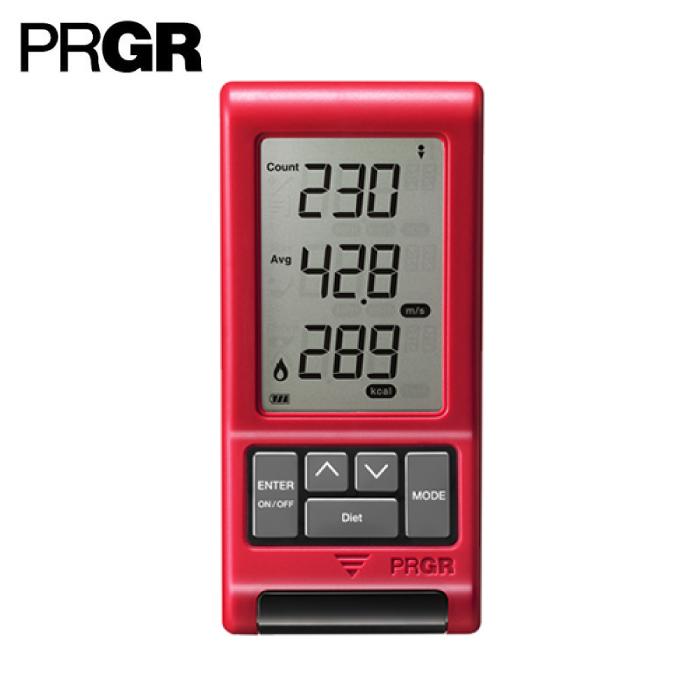 プロギア PRGR ゴルフ スピード測定器 ニューレッドアイズポケット RED EYES POCKET HS-120