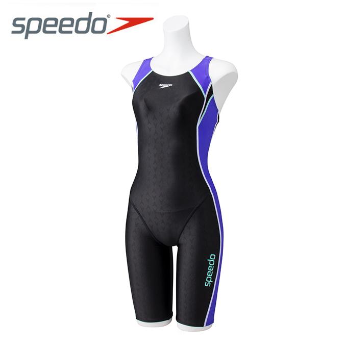 スピード speedo フィットネス水着 オールインワン レディース Lap Swim ラップスイム スパッツスーツ SD58N13-VI