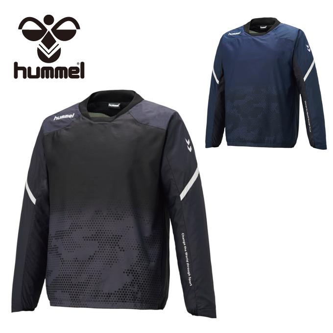 ヒュンメル hummel サッカーウェア ピステトップ メンズ レディース 裏起毛ハイブリッドピステトップ HAW4188
