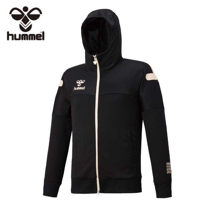ヒュンメル hummel スウェットジャケット メンズ ポリ裏毛フードニットジャケット HAP8214