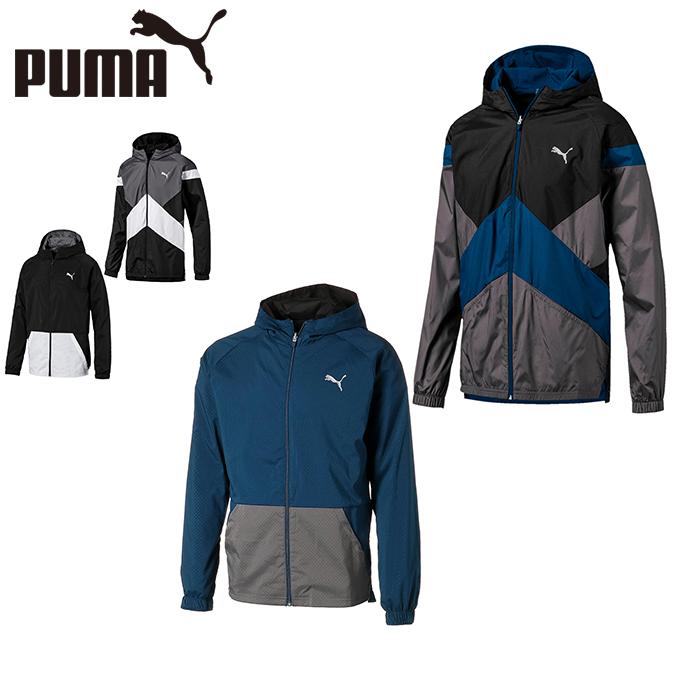 プーマ ウインドブレーカー ジャケット メンズ REACTIVE トレーニング リバーシブルジャケット 518835 PUMA