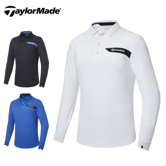 テーラーメイド TaylorMade ゴルフウェア ポロシャツ 長袖 メンズ テーラードピケ長袖ポロ KY486