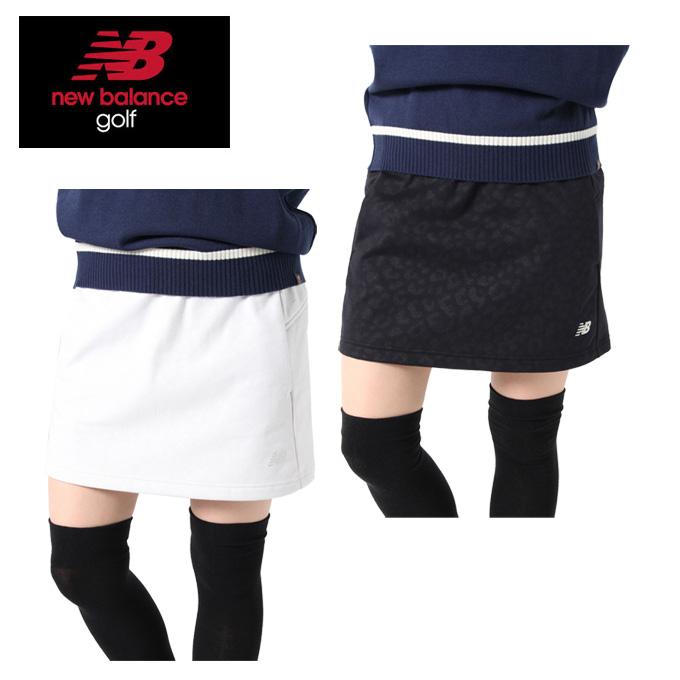 ニューバランス ゴルフウェア スカート レディース レオパードボンディング 012-9234510 new balance