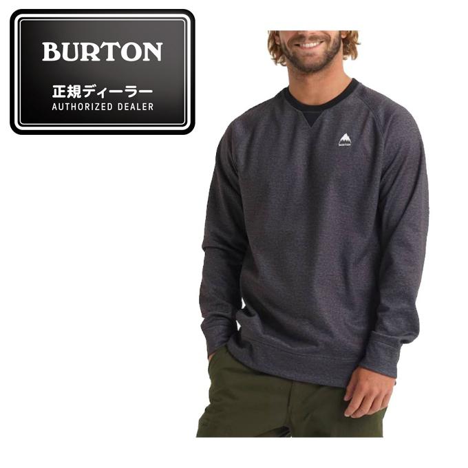 バートン BURTON スキー スノーボード トレーナー メンズ Crown Bonded Crew クロウン ボンデッド クルー 164651 001