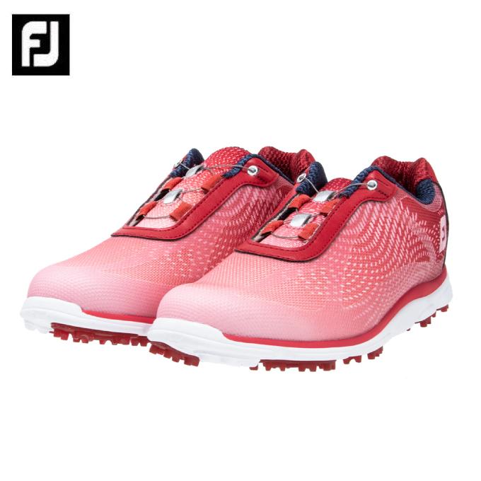 フットジョイ FootJoy ゴルフシューズ スパイクレス レディース FJ emPOWER Boa エンパワー ボア 98051W