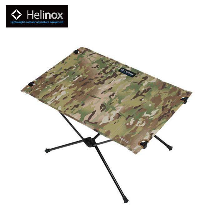 ヘリノックス Helinox アウトドアテーブル 小型テーブル テーブルワン ハードトップ カモ 1822180