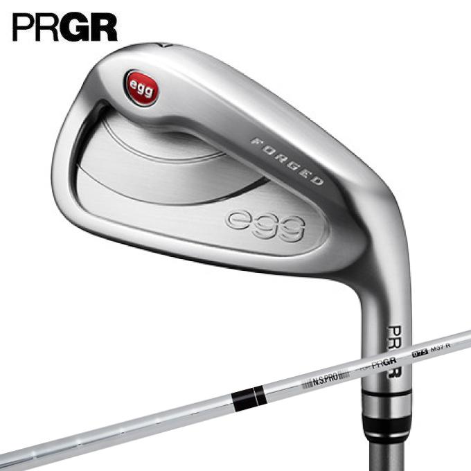 プロギア PRGR ゴルフクラブ アイアンセット 4本組 メンズ ニューエッグ フォージド ソフトスチール NEW egg FORGED アイアン