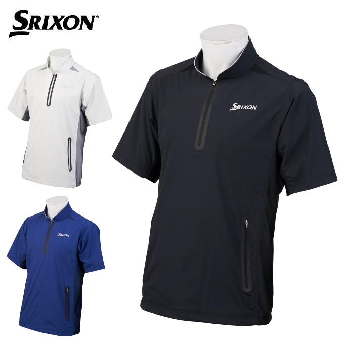 スリクソン SRIXON ゴルフウェア 半袖シャツ メンズ 半袖ウィンドブレーカー RGMOJK50
