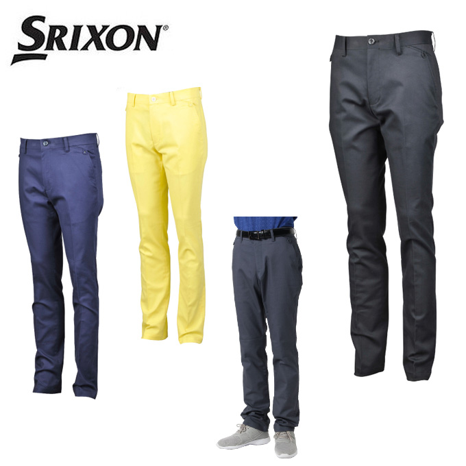 スリクソン SRIXON ゴルフウェア ロングパンツ メンズ サテンビーチストレッチパンツ RGMOJD02