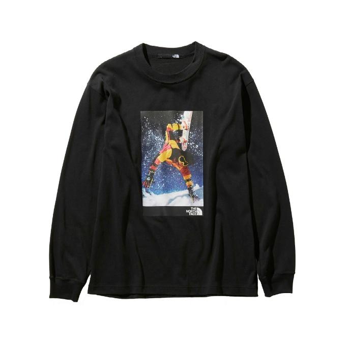 ノースフェイス Tシャツ 長袖 メンズ レイジロングスリーブティー NT81965 K THE NORTH FACE