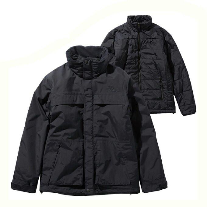 ノースフェイス アウトドア ジャケット メンズ Makalu Triclimate Jacket マカルトリクライメイトジャケット NP61937 K THE NORTH FACE