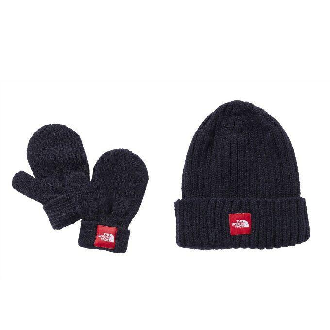 ノースフェイス ベビー 手袋 ニット帽 ジュニア BABY カプッチョリッド&ミットセット NNB41902 UN THE NORTH FACE