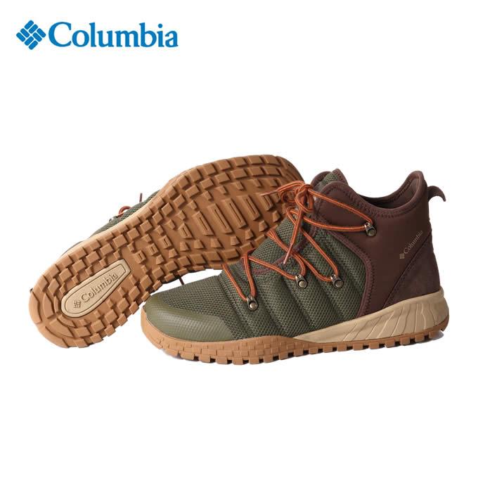 コロンビア トレッキングシューズ ミッドカット メンズ フェアバンクス503 BM5975 384 Columbia