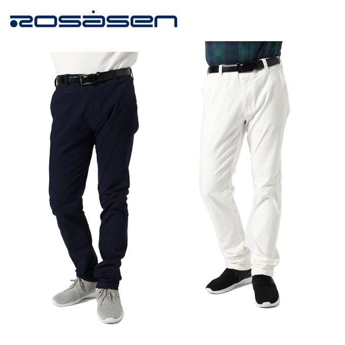 【エントリーで14倍 8/10~8/11まで】 ロサーセン ROSASEN ゴルフウェア ロングパンツ メンズ ハイパーストレッチチノパンツ 044-71910