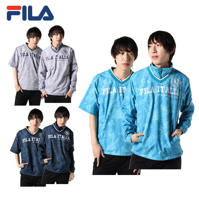 フィラ FILA ゴルフウェア ジャケット メンズ Vネックプルオーバー 789-203