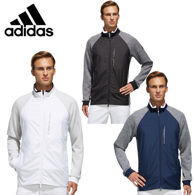 アディダス ゴルフウェア ジャケット メンズ ファブリックミックス ジップ FAB MIX F ZIP FYO82 adidas
