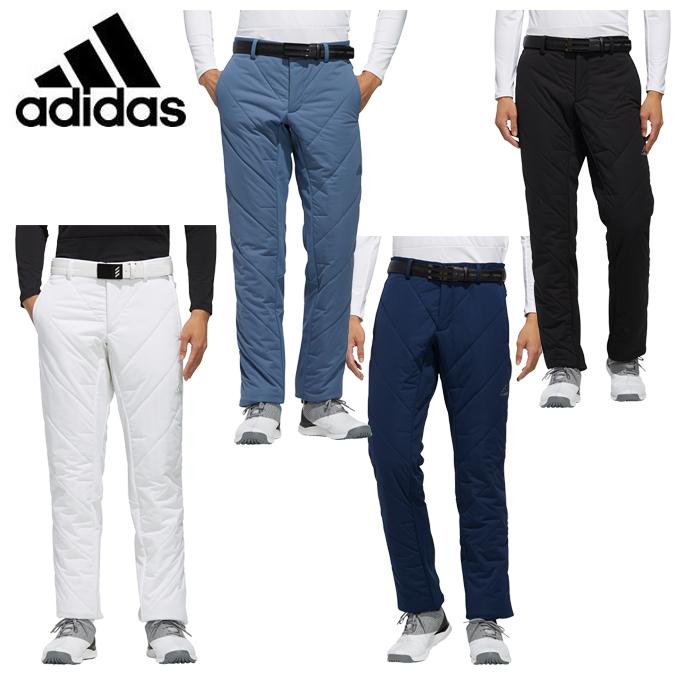 アディダス ゴルフウェア ロングパンツ メンズ キルティング 中わたパンツ Padded Pants IPJ14 adidas