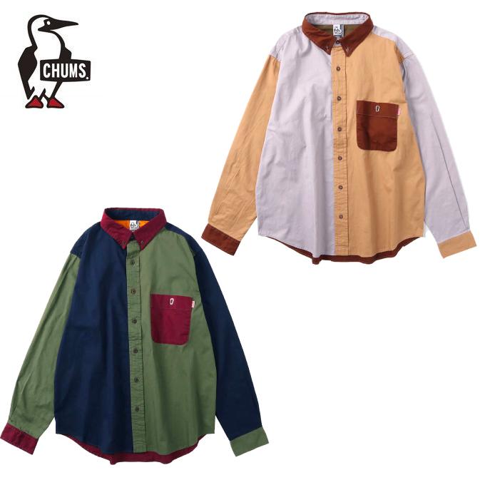 チャムス CHUMS 長袖シャツ メンズ BDクレイジーシャツ CH02-1129
