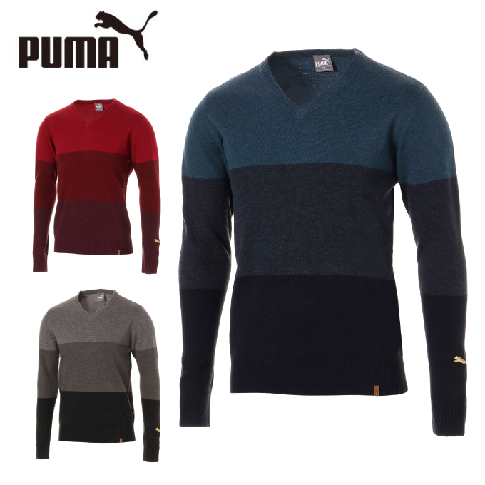プーマ ゴルフウェア セーター メンズ TB セーター 923927 PUMA