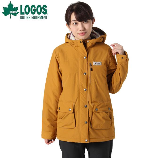 ロゴス LOGOS 中綿ジャケット レディース キャンプスタイルナバホ HD 9486-4360 26 Mustard