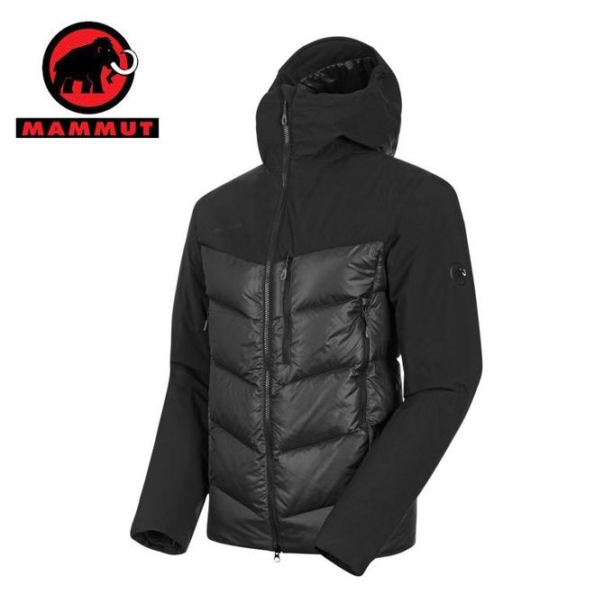 【国内正規品】 マムート MAMMUT ダウンジャケット メンズ Rime Pro IN Hybrid Hooded Jacket AF Men 1013-01320 0001