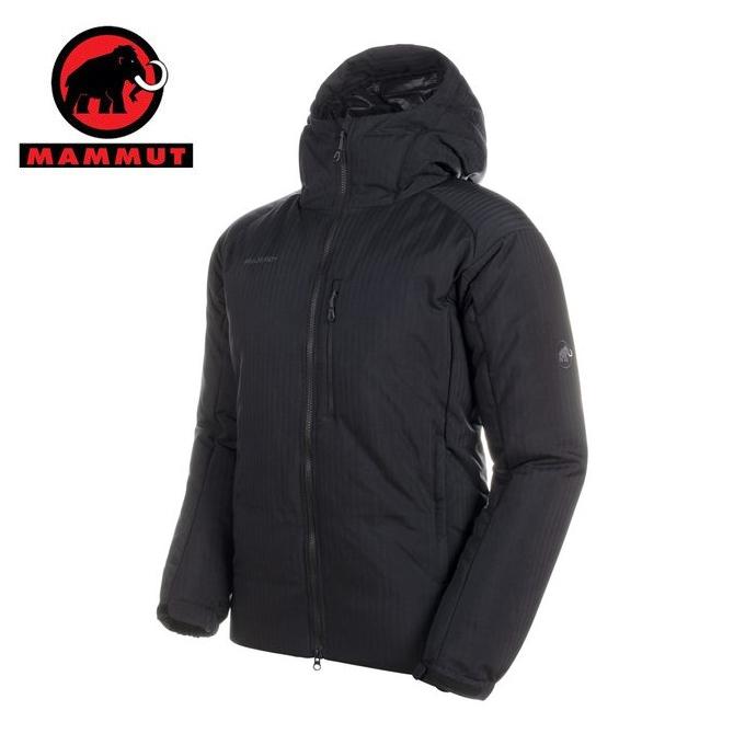 【3/25はクーポンで1000円引】 マムート MAMMUT ダウンジャケット メンズ Whitehorn Pro IN Hooded Jacket AF Men 1013-01330 0001