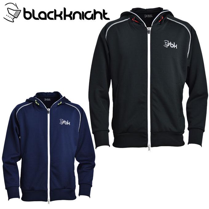 ブラック ナイト Black knight テニスウェア スウェットパーカー メンズ フルジップパーカー T-9424