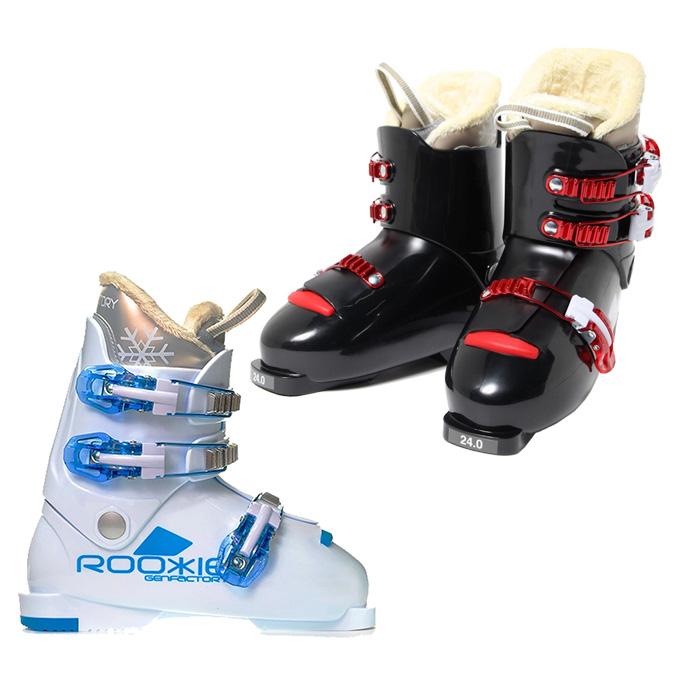 【スキー用品クーポンで10%OFF 12/19 20:00~12/26 1:59】 ゲン GENFACTORY ジュニアスキーブーツ JRブーツ ROOKIE