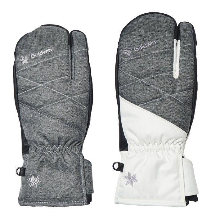 ゴールドウィン GOLDWIN スキーグローブ ミトン レディース W's 3-Finger Multi Ski Glove フィンガー マルチ GL81914P-U