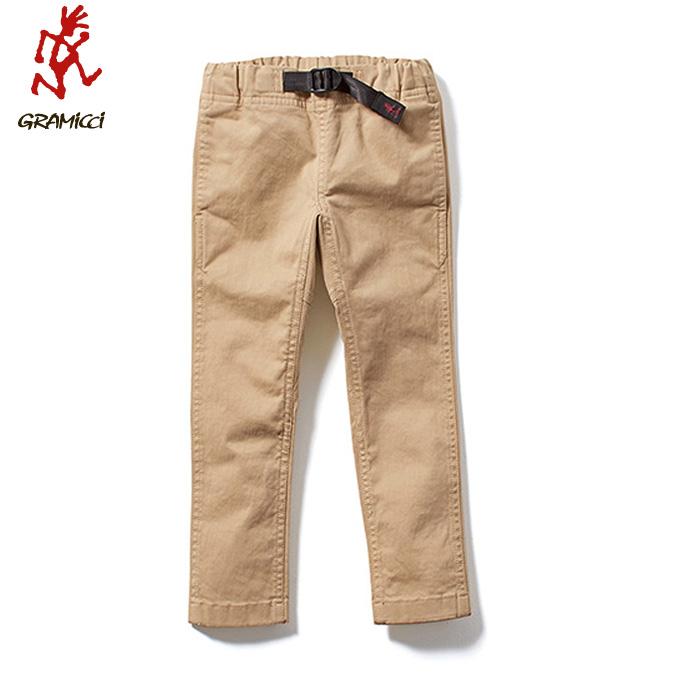 グラミチ Gramicci ロングパンツ ジュニア KIDS NARROW PANTS キッズナローパンツ 5017-BJ-K CHINO