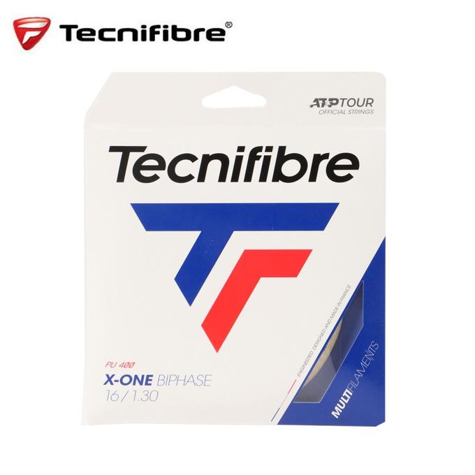 購入後レビュー記入でクーポンプレゼント中 テクニファイバー 硬式テニスガット X-ONE BIPHASE エックス ワン バイフェイズ 割引 1.30mm TECNIFIBRE 未使用 TFG202