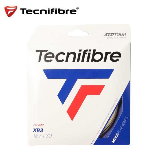 購入後レビュー記入でクーポンプレゼント中 テクニファイバー 硬式テニスガット XR3 TFG216 エックスアール メーカー公式ショップ 1.30mm TECNIFIBRE オーバーのアイテム取扱☆