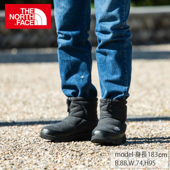 【ポイント5倍 2/15 0:00~2/17 9:59】 ノースフェイス スノーブーツ メンズ レディース Nuptse Bootie Wool V Short ヌプシブーティーウール5ショート ユニセックス NF51979 C THE NORTH FACE